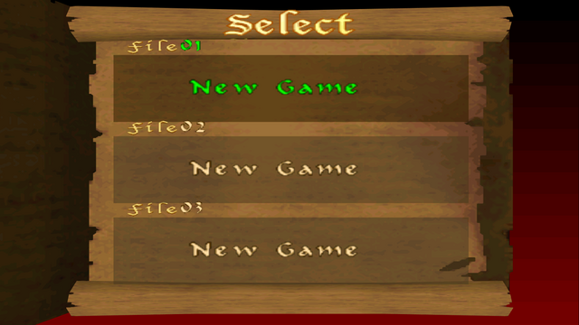 File:Castlevania (N64) - Name Entry Screen - 01.png