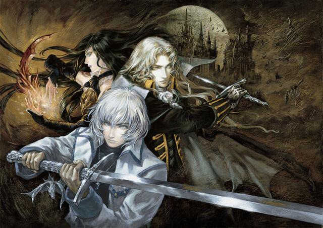 File:Castlevania Harmony of Despair Full Poster.jpg