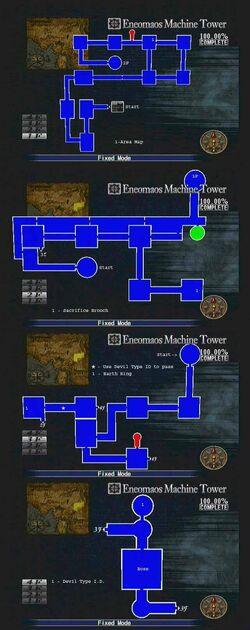 Eneomaos Machine Tower Map