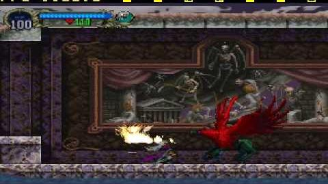 "Castlevania ""Symphony of the Night"" -Boss 5 (Hippogryph)"
