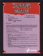 Haunted Castle ad rear