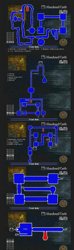Abandoned Castle Map