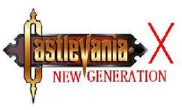 Castlevania X- New Generation Logo