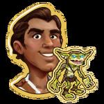 Rafael with Goblin