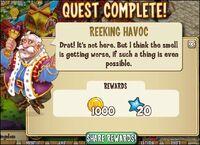 REEKING HAVOC reward