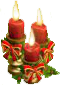 Holiday Trio Candles