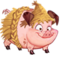 Lil' Straw Pig