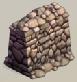 Rubble wall