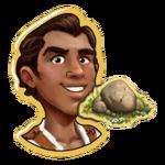 Rafael with Rock