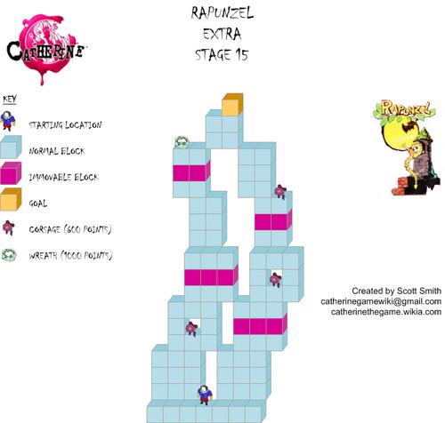 Map E15 Rapunzel