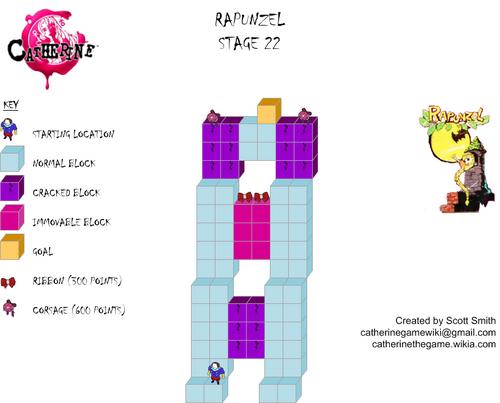 Map 22 Rapunzel