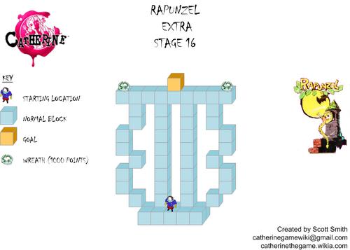 Map E16 Rapunzel