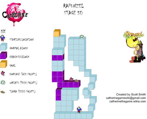 Map 50 Rapunzel