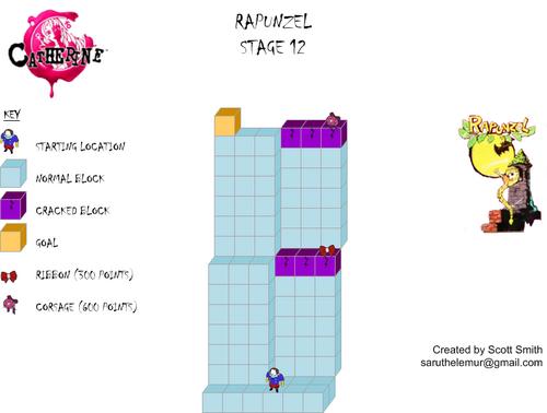 Map 12 Rapunzel