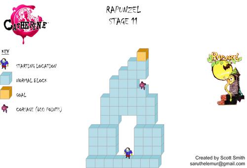 Map 11 Rapunzel