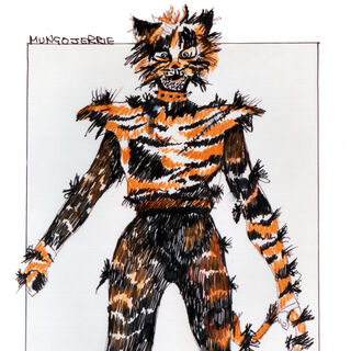 Original Design for the Song Costume