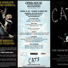 UK Tour flyer 2003