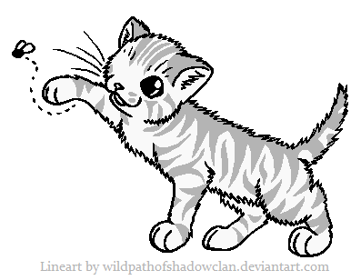 File:Kit Tabby Lineart by WildpathOfShadowClan.png