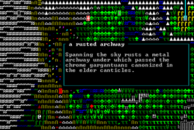 A Rusted Archway Overworld