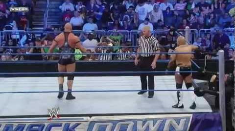 Ryback vs Barry Stevens (Ryback Debut) - WWE Smackdown 4 6 12 (HD)