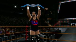 James Dark as PFW World Champion