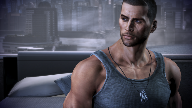 File:Male Shepard of Mass Effect.png