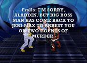 JeriMax Biff gets Aladdin arrested