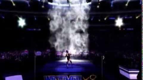 Chrome Cross WWE 2K14 Entrance