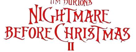 File:Nightmare Before Christmas Logo II.png