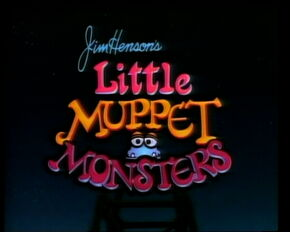 Little Muppet Monsters title card