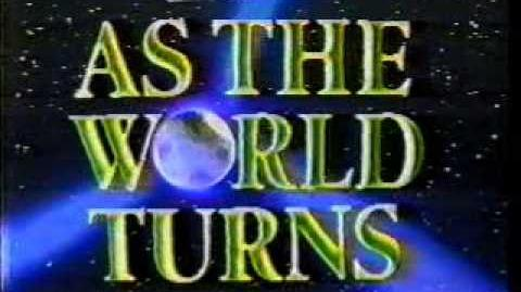 As The World Turns Intro (1981-1993)