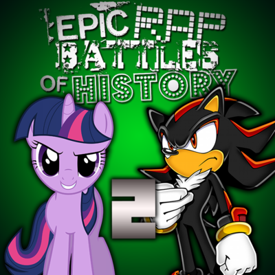 Twilight sparkle vs shadow the hedgehog 2 by qqpass-d8w7ue8