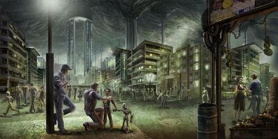 Underground city by gamefan84