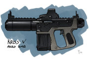 KRISS V micro Sub Machine Gun by tsukijin-1-