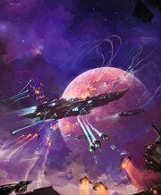 Concept,art,dogfight,planet,space,space,battle,spaceship-2b1cf52a36544ce01a8c6166df12e105 h-1-