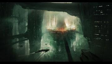 Sci fi city by lapec-d7i0ul7