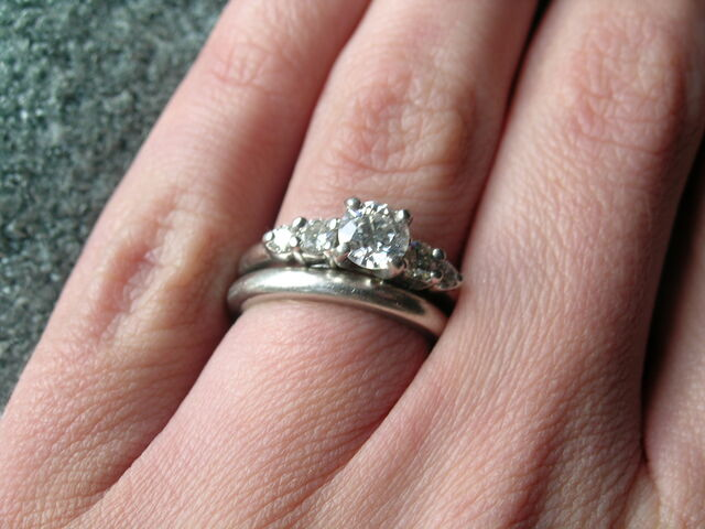 File:Wedding and engagement rings.jpg