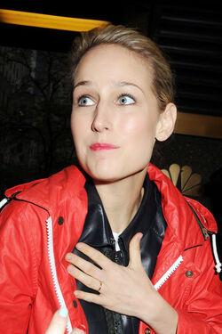 Leelee Sobieski wedding ring