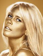 Claudia Schiffer - Accessorize photoshoot