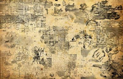 Maps of zelda