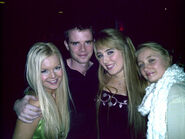 Chloë & Naomi Agnew (sisters) with Máiréad & Karl Nesbitt (siblings)