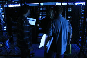Engineers and servers