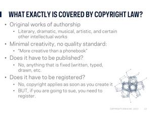 Copyright webinar Slide14