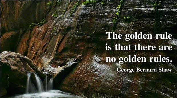 File:The golden rule is that there are no golden rules.jpg