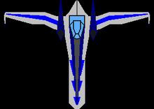 Arwing Team Star Fox Large Scale