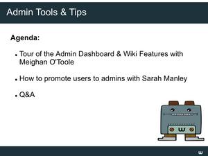 Admin dashboard webinar Slide02