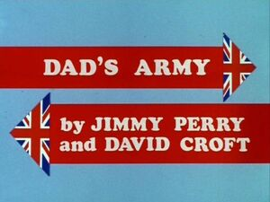 Dads army titlecard colour