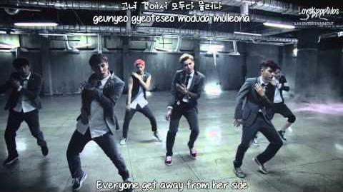 EXO - Growl (Korean ver.) MV English subs + Romanization + Hangul HD