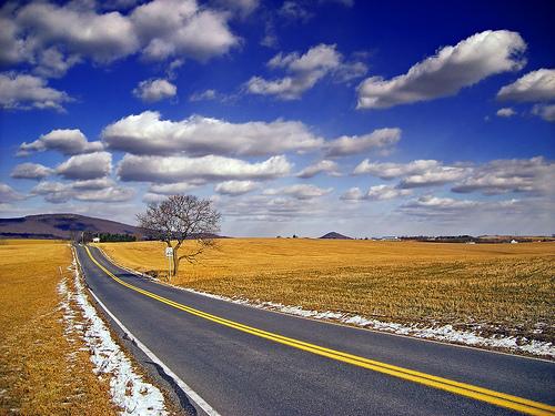 File:Road blue sky.jpg