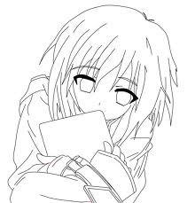 File:Anime girl outline.jpg